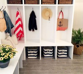Mud Room Storage Lokers, Foyer, Home Decor, Home Improvement, Storage Ideas