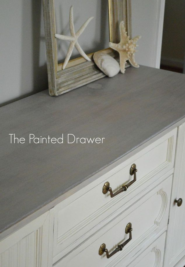 Terrific Dresser Gets A Beach Chic Makeover Hometalk Largest Home Design Picture Inspirations Pitcheantrous