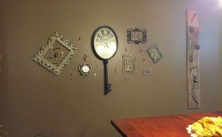 wall of keys, crafts, repurposing upcycling, wall decor