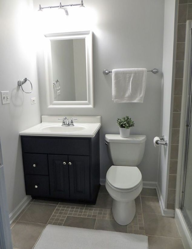 Updating bathroom ideas our favorite bathroom update for Updating bathroom ideas