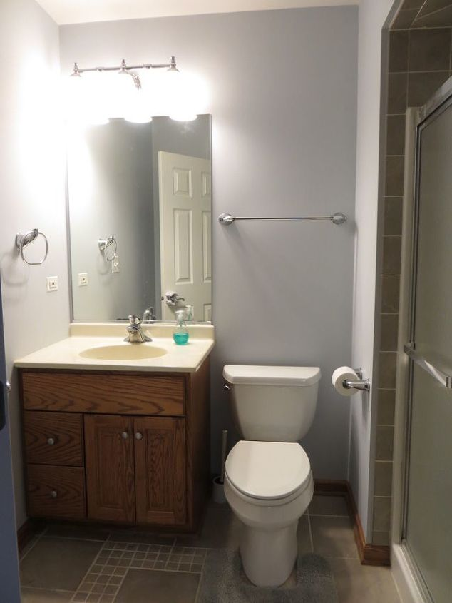 200 bathroom update hometalk for Updating bathroom ideas