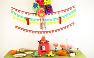 cinco de mayo party diy decorations on a budget, crafts, how to, repurposing upcycling, seasonal holiday decor