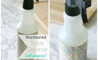 diy natural spray cleaner, cleaning tips, go green