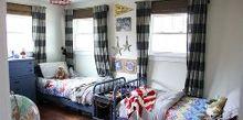vintage modern boys room, bedroom ideas