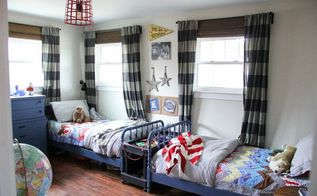 vintage modern boys room, bedroom ideas