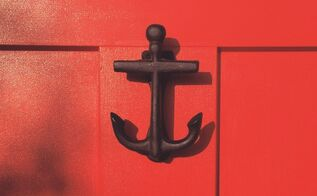 a little front door love, curb appeal, doors, painting, Anchor
