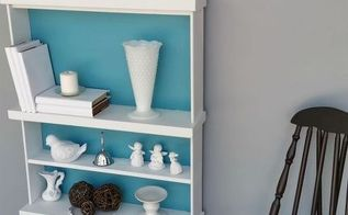 repurposed chest of drawers to bookshelf, repurposing upcycling, shelving ideas, storage ideas