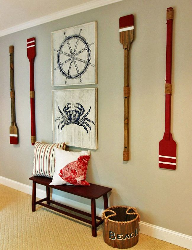 Boys 39 nautical themed bedroom hometalk for Wall decoration ideas with photos