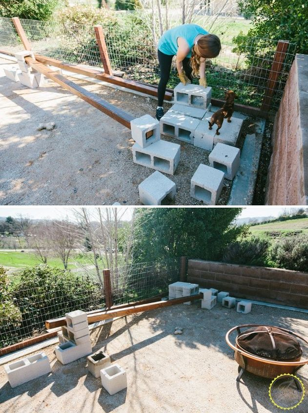 bench for your backyard hometalk