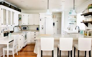 cottage fresh kitchen remodel, home improvement, kitchen design, shelving ideas