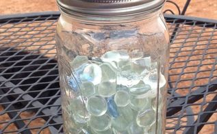 mason jar solar lights, how to, lighting, mason jars, outdoor living, repurposing upcycling