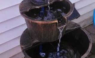 new and improved new fountain, flowers, gardening, outdoor living, ponds water features