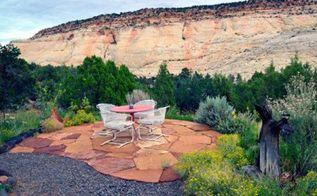 7 hardscaping materials, concrete masonry, gardening, landscape