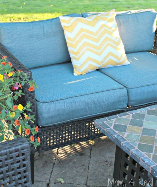 The Easy Way To Clean Outdoor Cushions Cleaning Tips Furniture