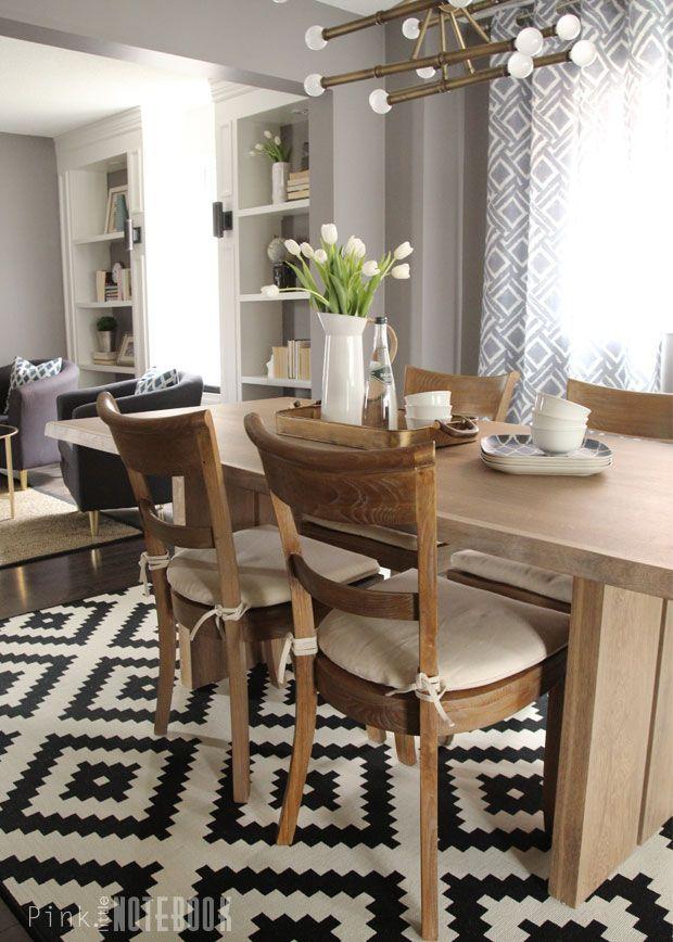 Combined Living + Dining Room Makeover | Hometalk