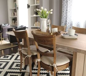Combined Living Dining Room Makeover, Dining Room Ideas, Flooring, Living  Room Ideas