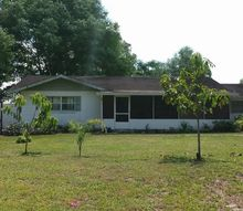 q is anyone on hometalk from sebring fl area, Well here is the house prior to the new roof being put on