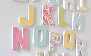 diy letter wall, crafts, how to, wall decor