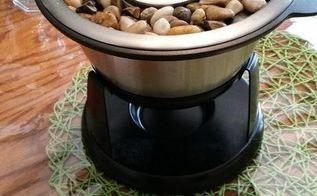 table top fire pot, outdoor living