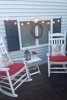 outdoor decorating ideas on the deck, container gardening, decks, gardening, outdoor living