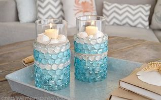 1 store candle vases, crafts, repurposing upcycling