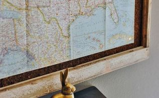 repurposed old window map to wall decor tracking chart, how to, repurposing upcycling, wall decor, woodworking projects