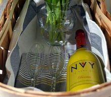 anniversary gift baskets, crafts