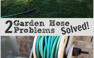 diy projects for garden hose problems, gardening, landscape, outdoor living, repurposing upcycling