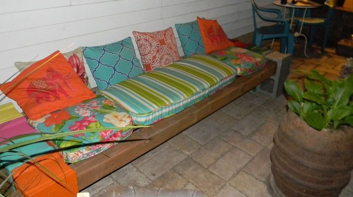 Cinder Block Bench Hometalk
