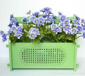 Magazine Holder Flower Planter, Container Gardening, Flowers, Gardening,  How To, Repurposing