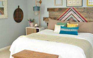 master bedroom facelift, bedroom ideas, lighting, pallet, repurposing upcycling, wall decor