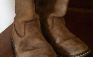 q repurposing old boots, crafts, repurposing upcycling