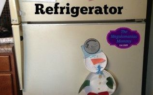 easy affordable refrigerator makeover, appliances, how to