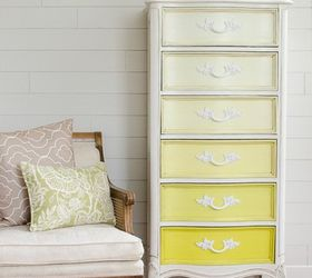 ombre french lingerie chest painted furniture