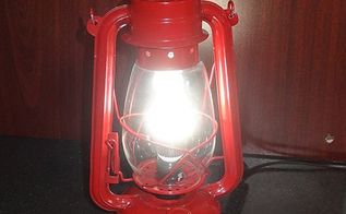 repurposed hurricane lamps to led lamps, electrical, how to, lighting, repurposing upcycling