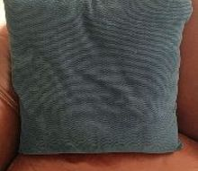 customized pillows using freezer paper, crafts, how to, repurposing upcycling, reupholster