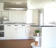 create a country white kitchen, kitchen design, painting