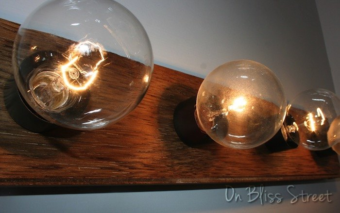 Super Easy Hollywood Light Fixture Upgrade for Under USD 5! Hometalk