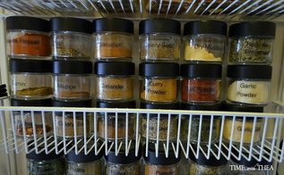 organizing spices herbs, organizing, storage ideas