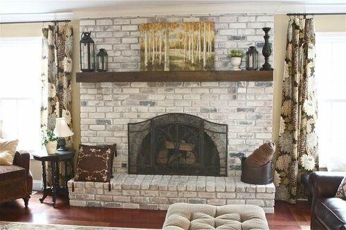 Need Fireplace Update Ideas 3 Way Brick Fireplace Hometalk