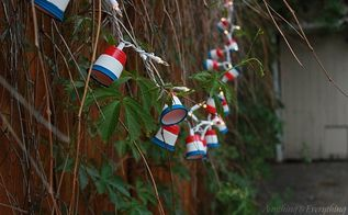 patriotic party lights, crafts, how to, patriotic decor ideas, repurposing upcycling, seasonal holiday decor