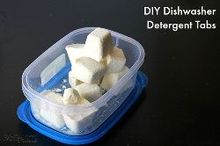 diy dishwasher detergent tablets, appliances, cleaning tips, diy, how to