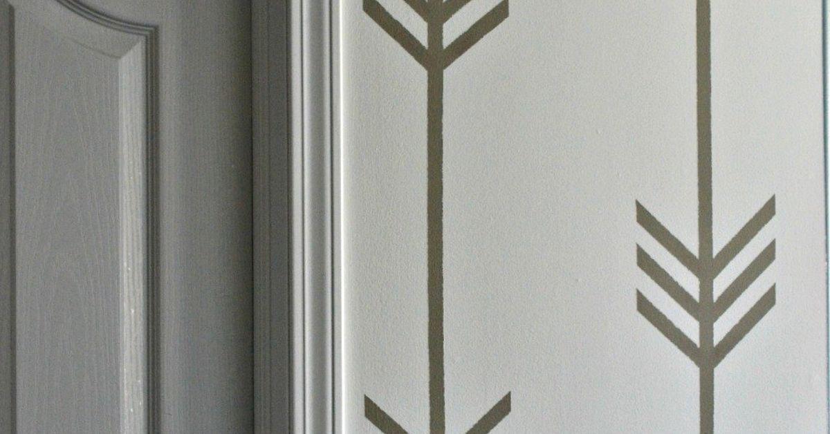 a wallpaper less patterned wall hometalk