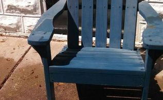 q how to make a chair look like aged wood, chalk paint, how to, painted furniture