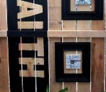 inspired fence decor, fences, outdoor living, painting