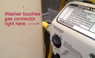 q hot water heater too close to washer, appliances, home maintenance repairs, plumbing