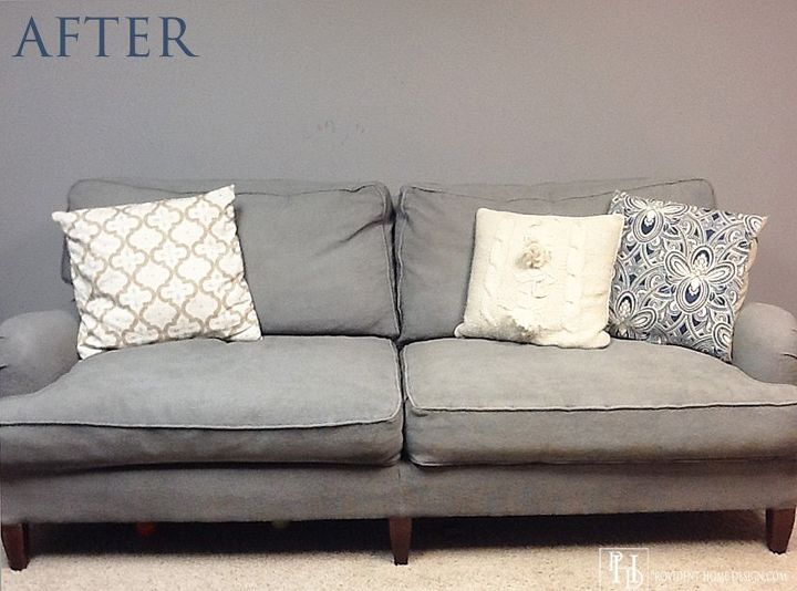 Painting A Couch With Chalk Paint Hometalk
