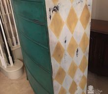 florence bedrrom furniture set makeover, chalk paint, painted furniture, repurposing upcycling