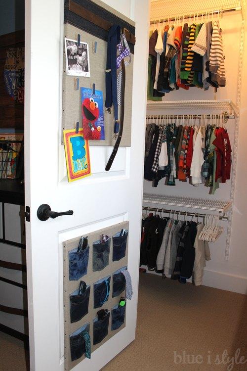 Denim Organizers For Boys Accessories Bedroom Ideas Closet Organizing Repurposing Upcycling