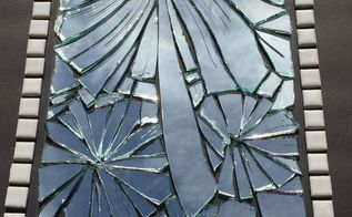 turn a broken mirror into art instead of throwing it away, crafts, how to, repurposing upcycling, wall decor